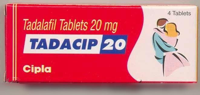 Tadacip (Cialis Generique ) 20 mg