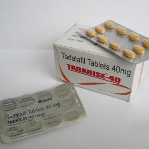 Generic Cialis (Tadalafil) Tadarise 40 MG