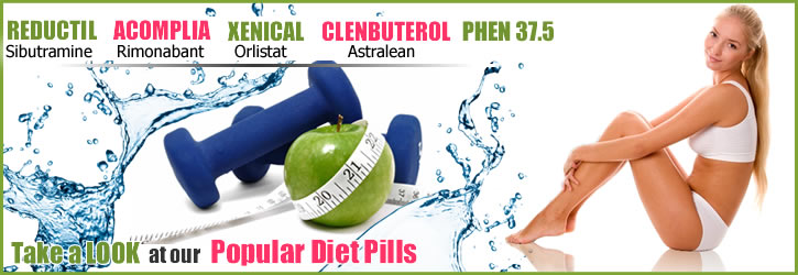 weight loss pills reductil acomplia xenical